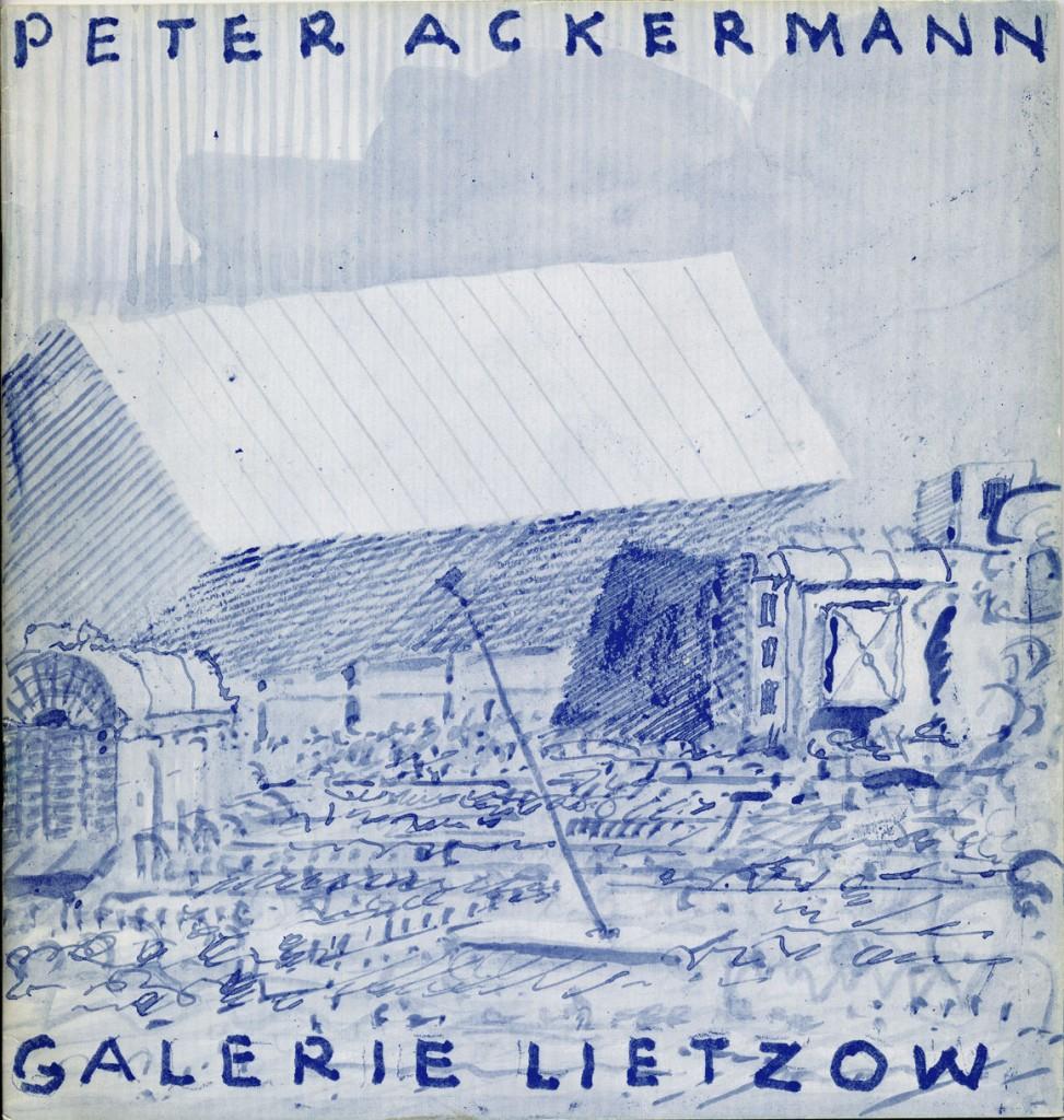 Peter Ackermann Gemälde Erscheinungsjahr 1970