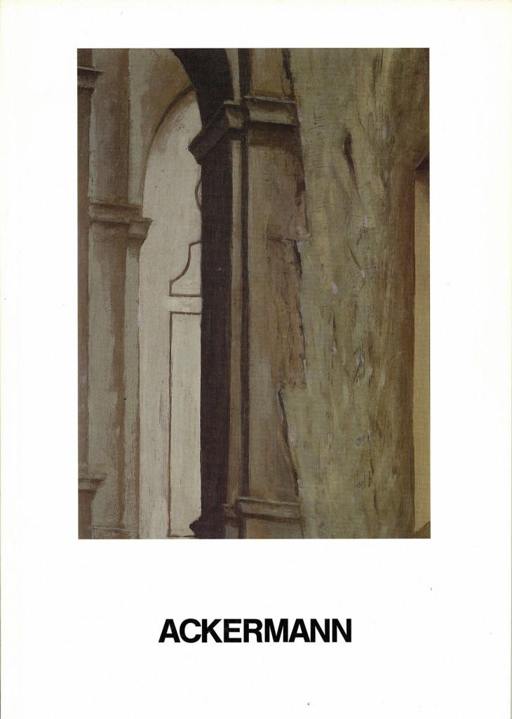 Peter Ackermann Monumente und Interieurs Erscheinungsjahr 1987