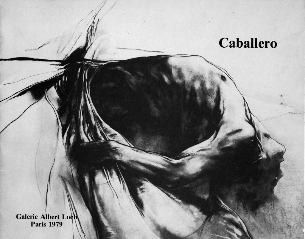 Luis Caballero Grands fusains (Décember 1979 – Janvier 1980) Erscheinungsjahr 1979