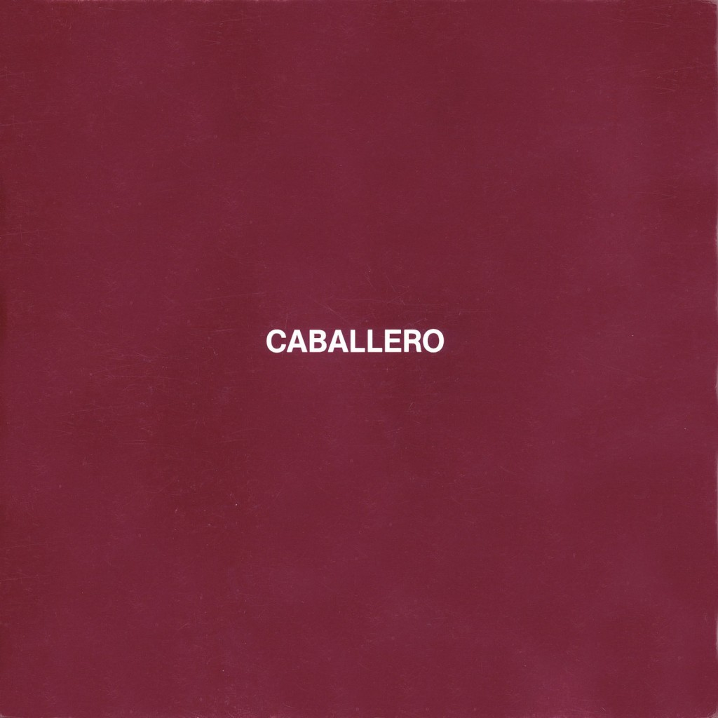 Luis Caballero Erscheinungsjahr 1982