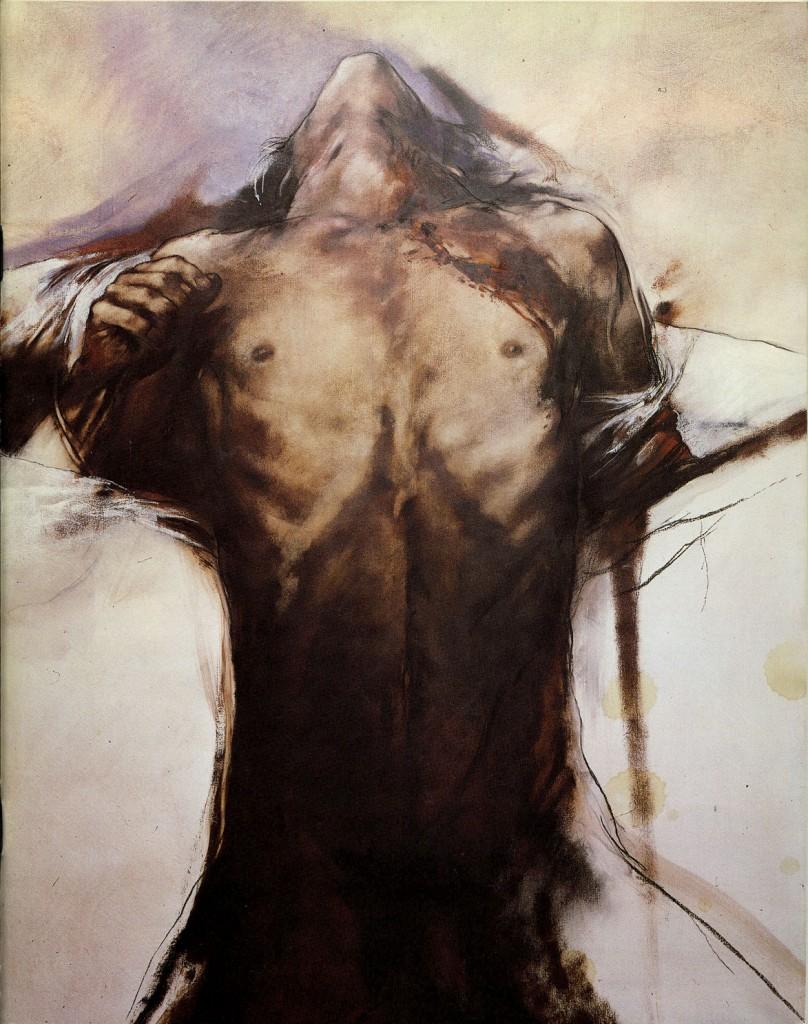 """Luis Caballero """"dessins et peintures recents"""" Erscheinungsjahr 1983"""