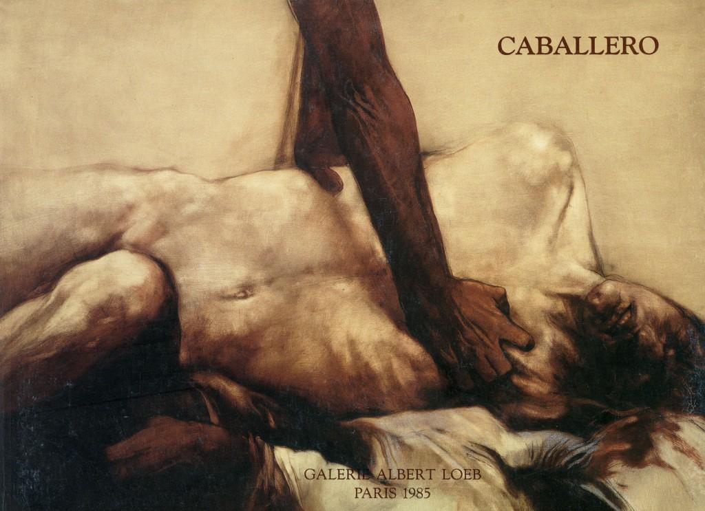 """Luis Caballero """"Novembre 1985"""" Erscheinungsjahr 1985"""