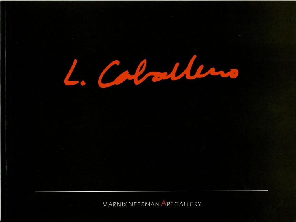 Luis Caballero Erscheinungsjahr 1987