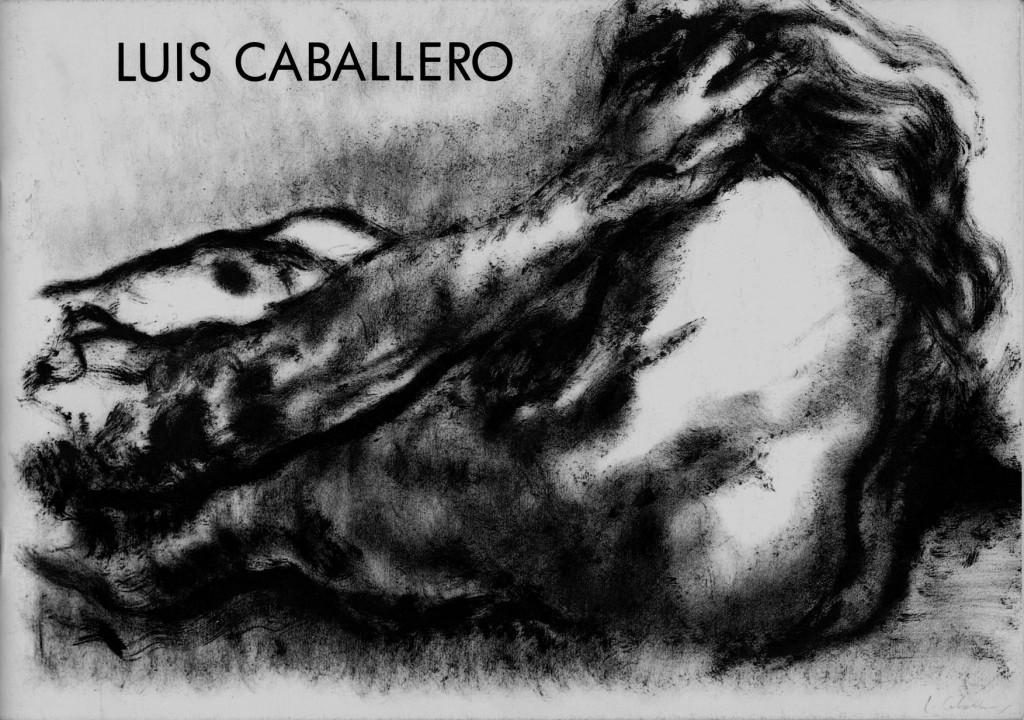 """Luis Caballero """"Les grands dessins ou la représentation du corps"""" Erscheinungsjahr 1992"""