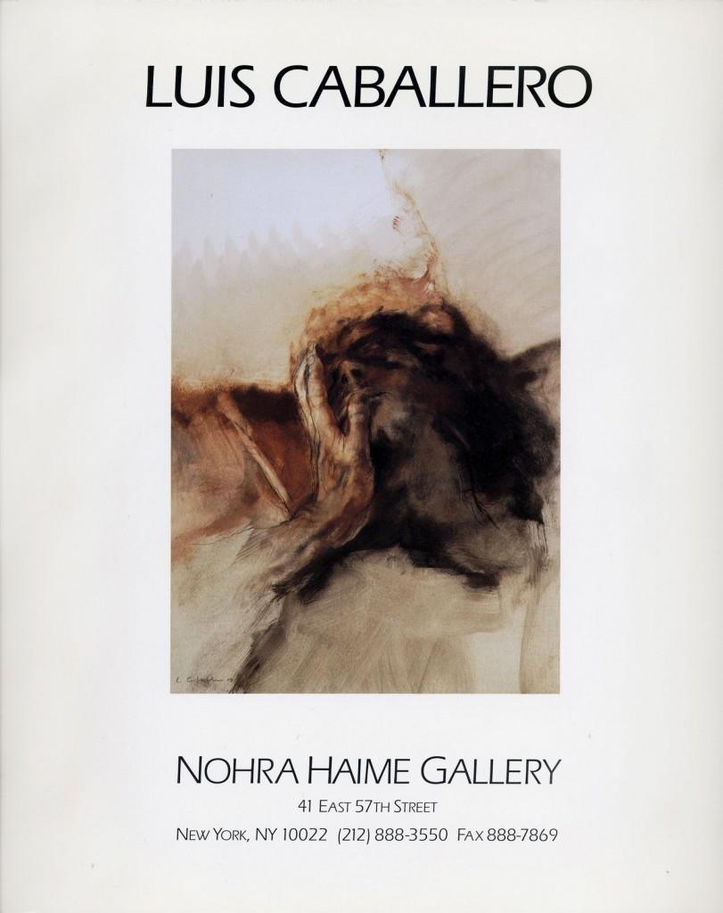 """Luis Caballero """"The male nude"""" Erscheinungsjahr 1994"""