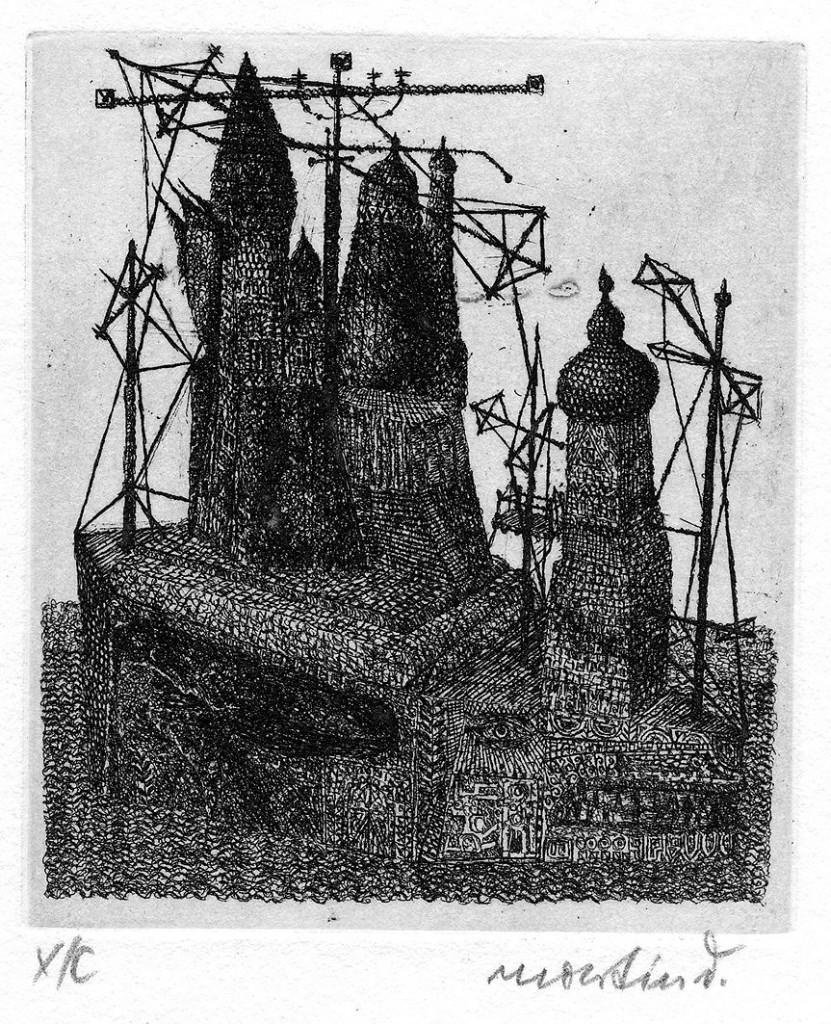 """""""Drachenturmstätte"""" 1967/1992 (#1400)"""