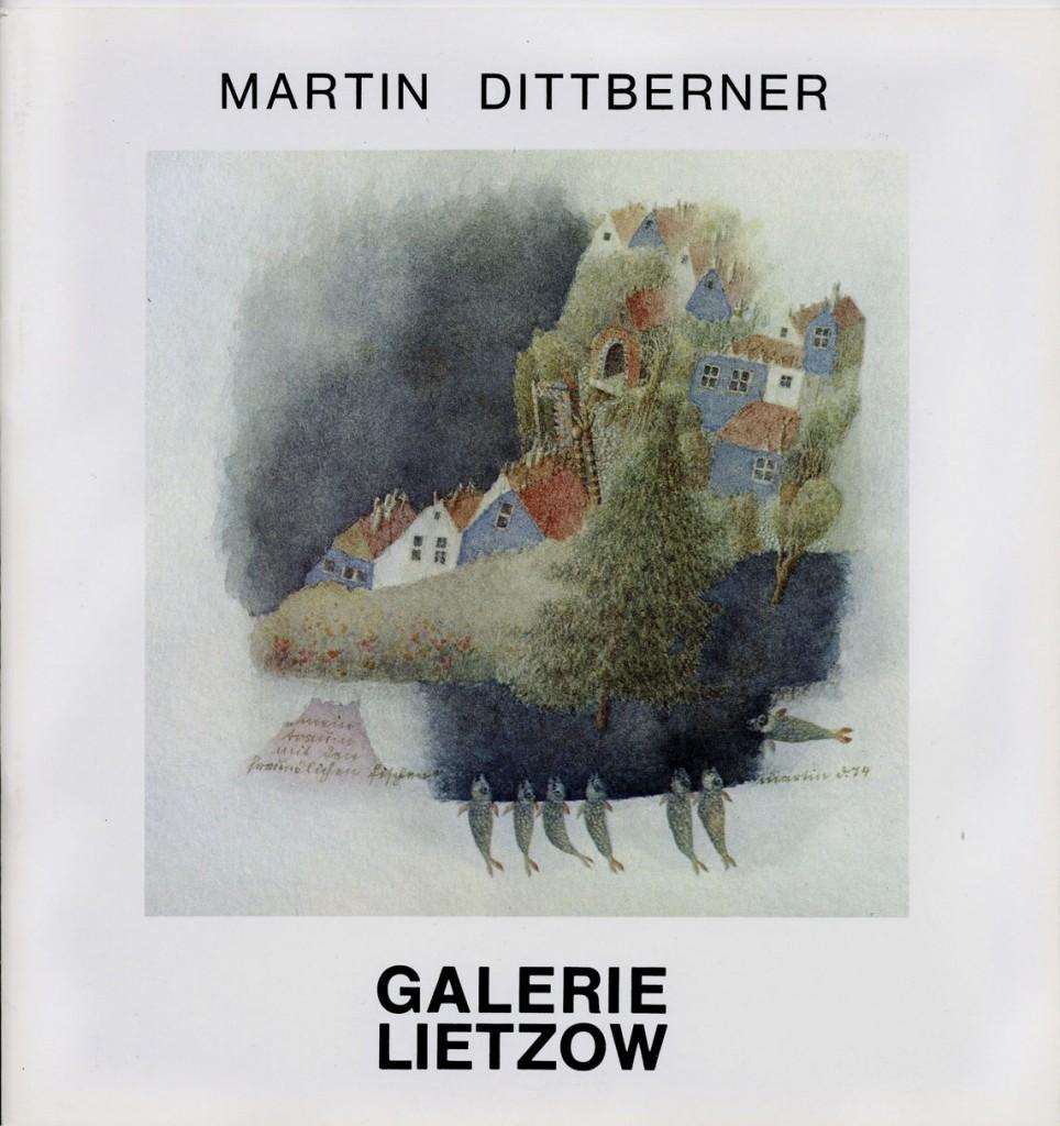 Martin Dittberner Aquarelle Erscheinungsjahr 1974