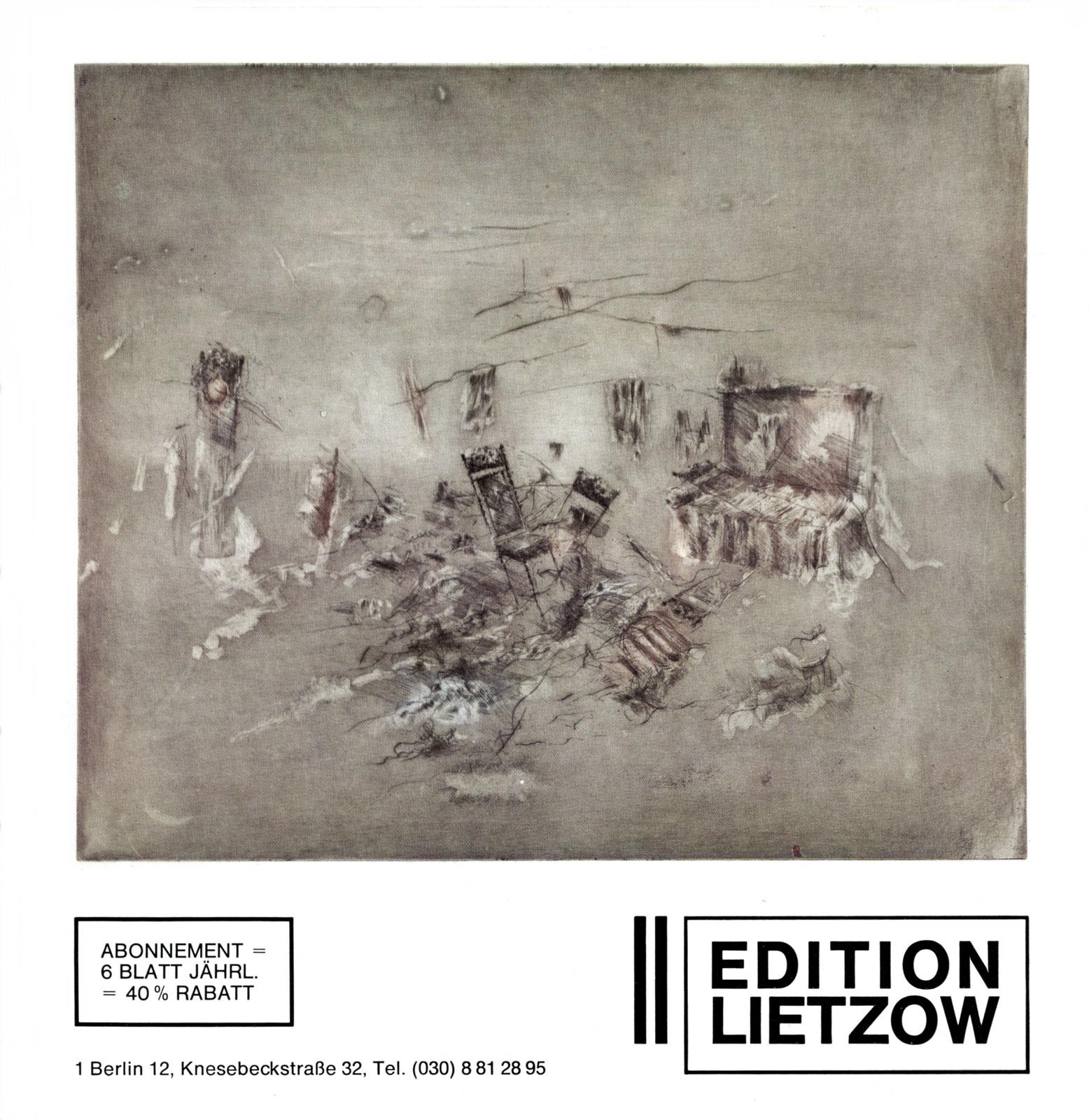katalog edition lietzow ii nummer