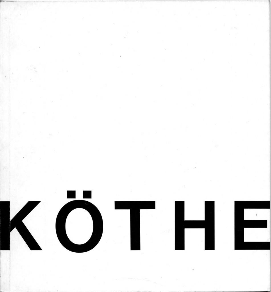 Fritz Köthe Gemälde, Aquarelle, Zeichnungen Erscheinungsjahr 1972