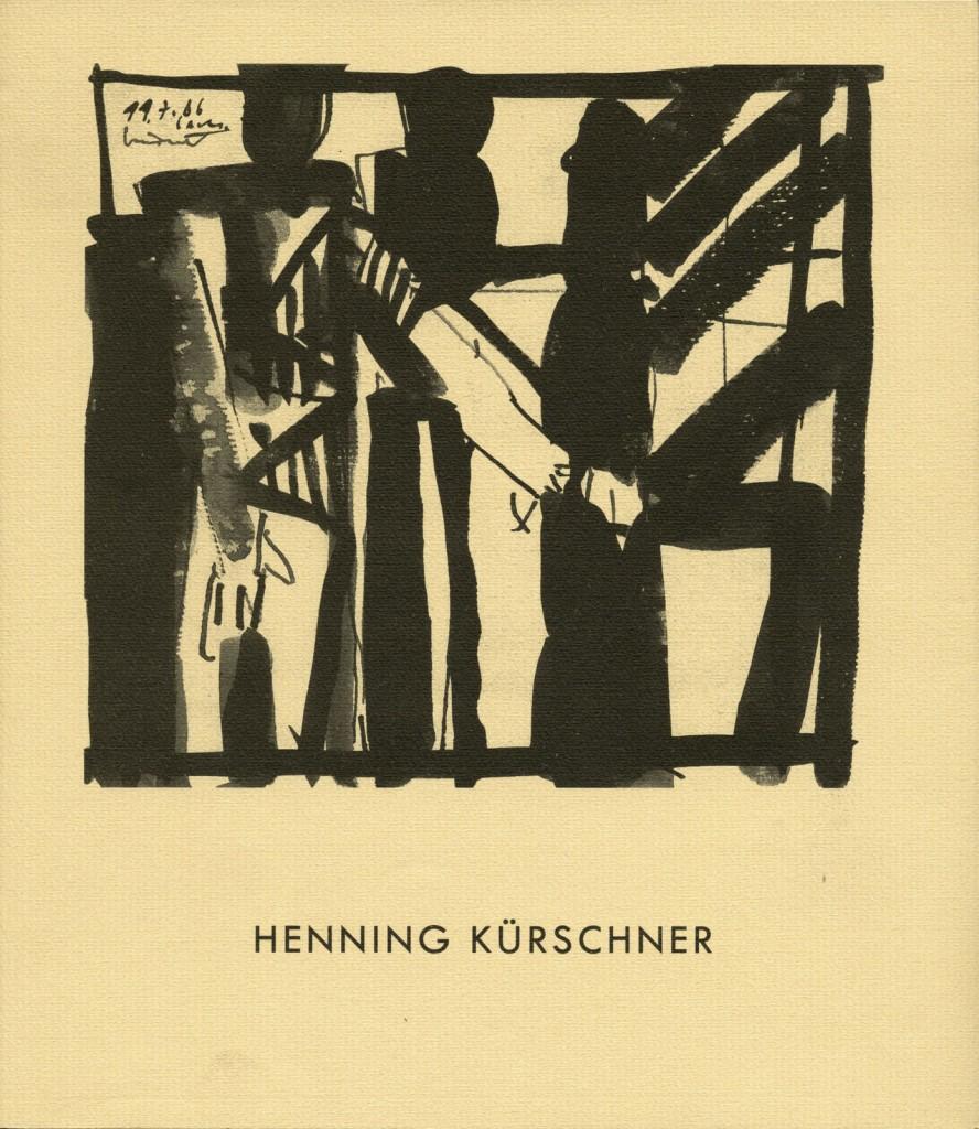 Henning Kürschner Arbeiten 1980-1987 Erscheinungsjahr 1988