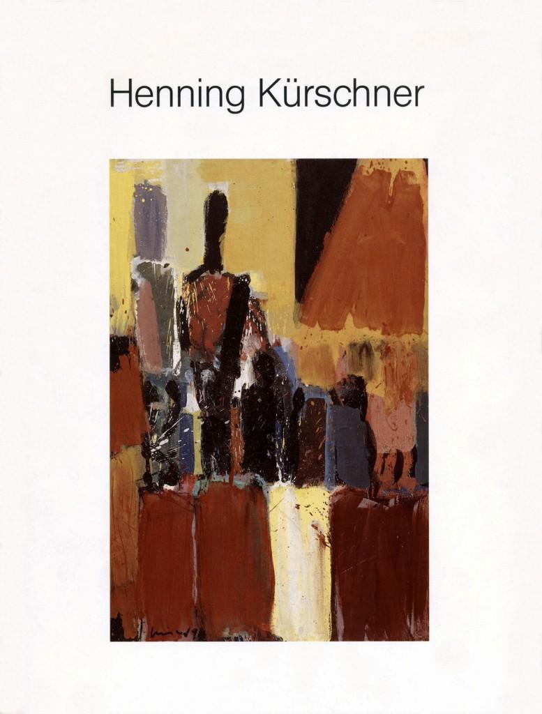 Henning Kürschner, Figuren und Räume – Neue Arbeiten, Erscheinungsjahr 1991