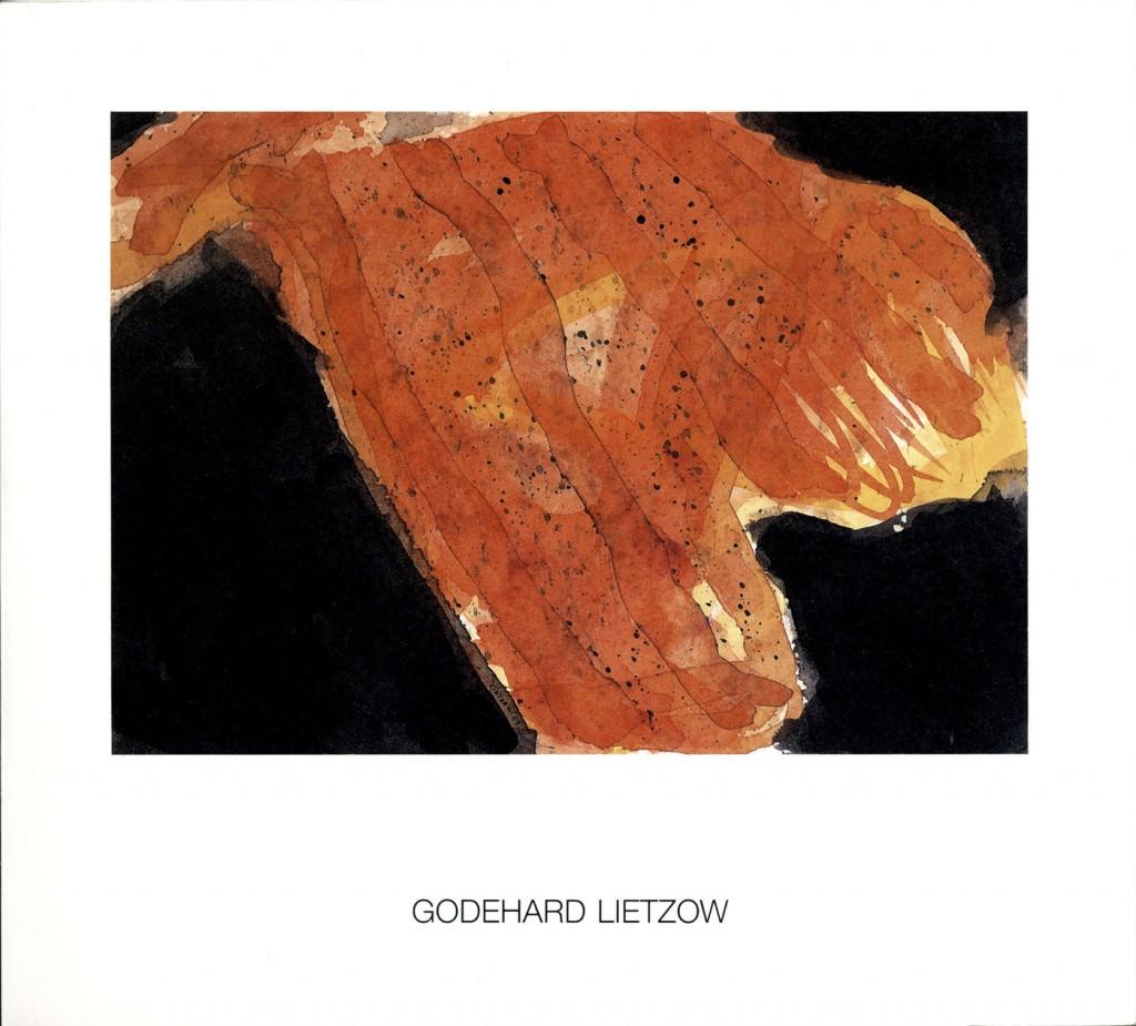 Godehard Lietzow, Aquarelle/watercolours 1977-1989, Erscheinungsjahr 1990