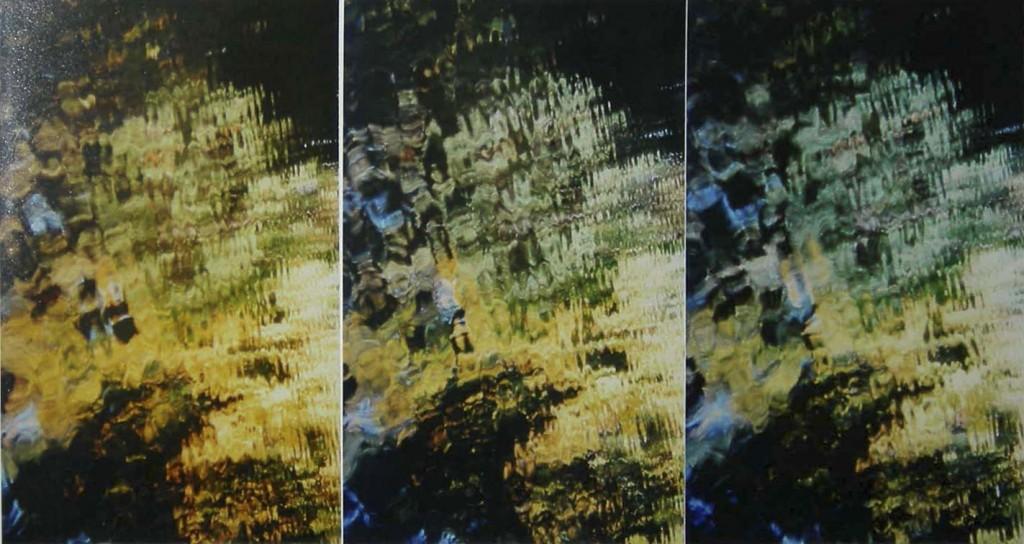 """""""Bewegter Silberspiegel"""" Nr.126 Serie Lichtfang-Schattenfang 1999"""