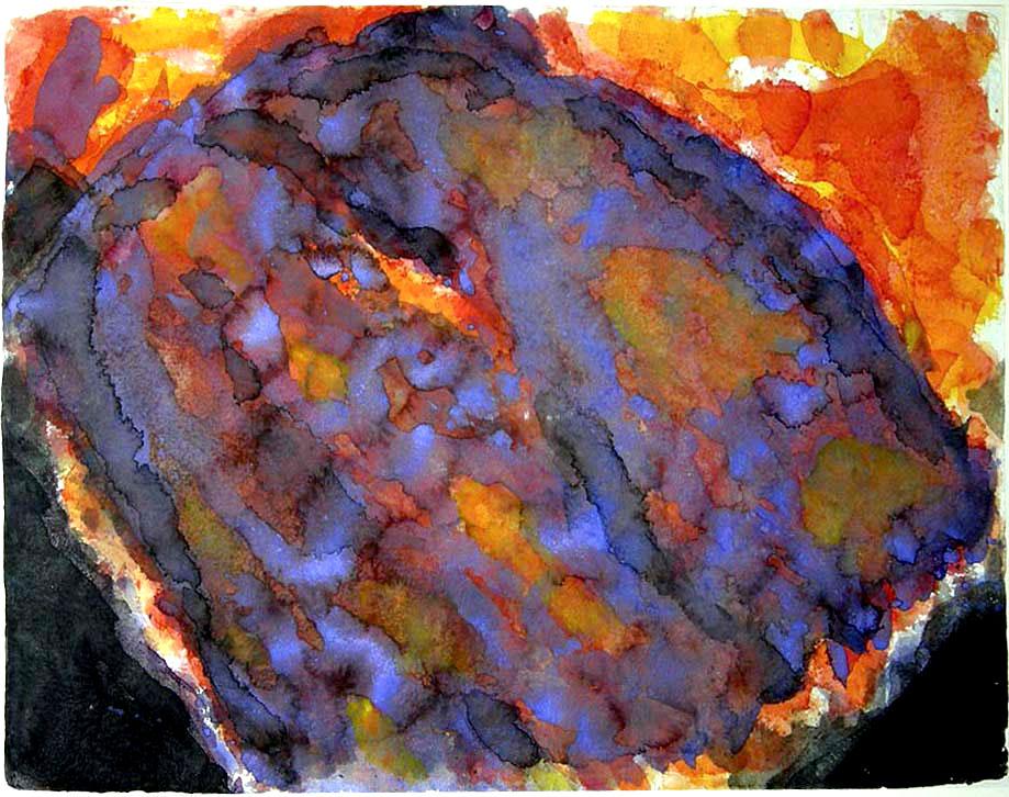 """""""Blaufeld und Feuerblume"""" 1991"""