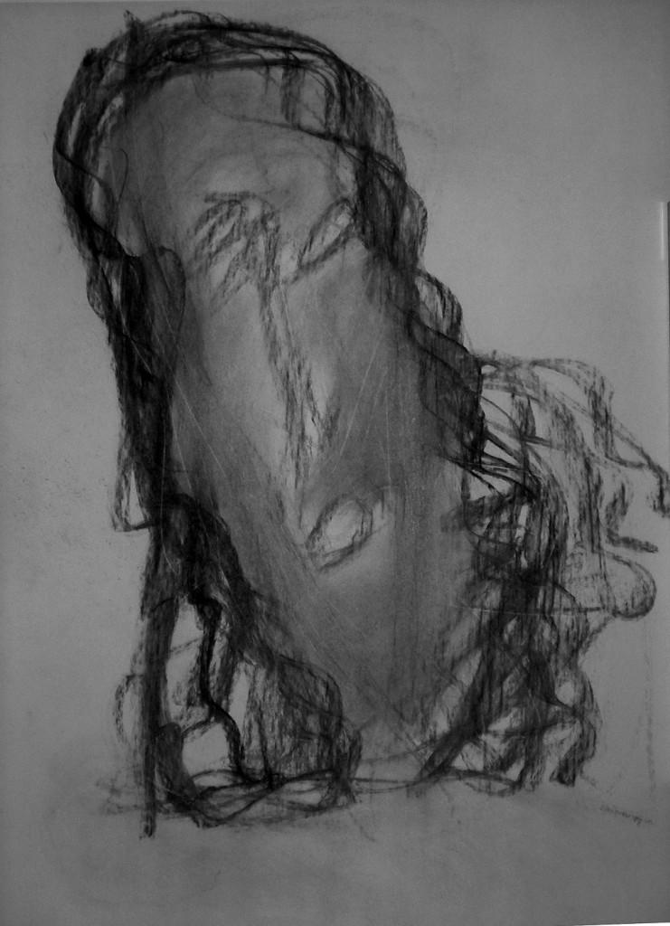 Ohne Titel (Kopf) 1997