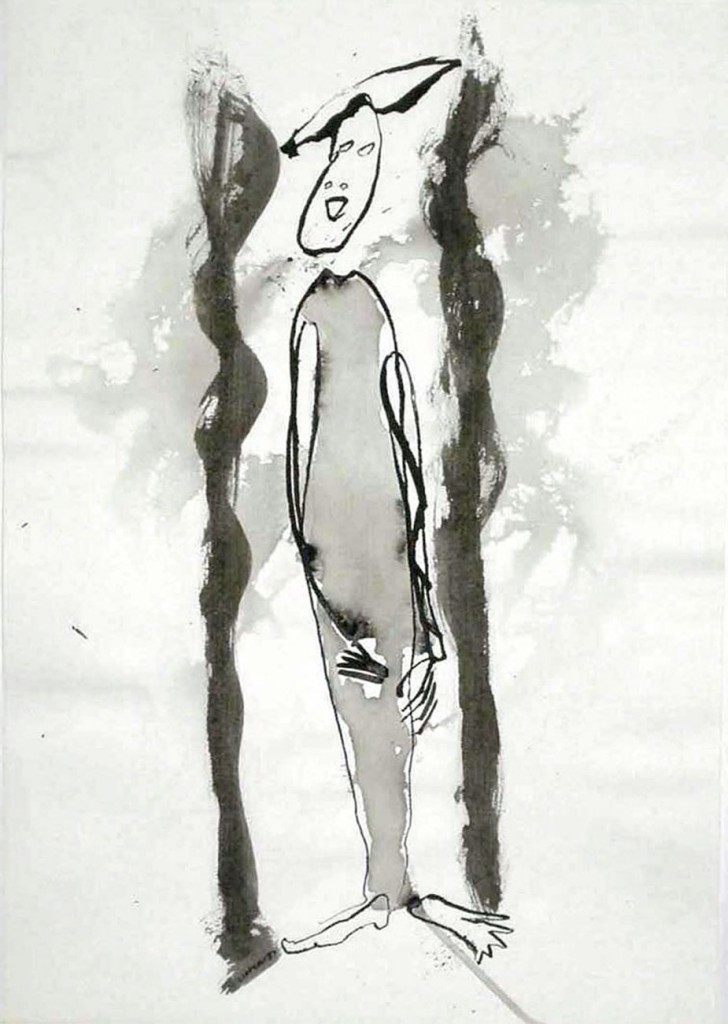 Ohne Titel (Stehende Figur) 1987