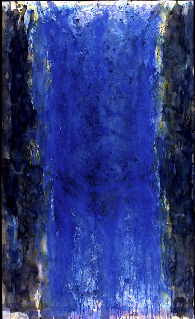 """""""Grosser, blauer Torso"""" 1992"""