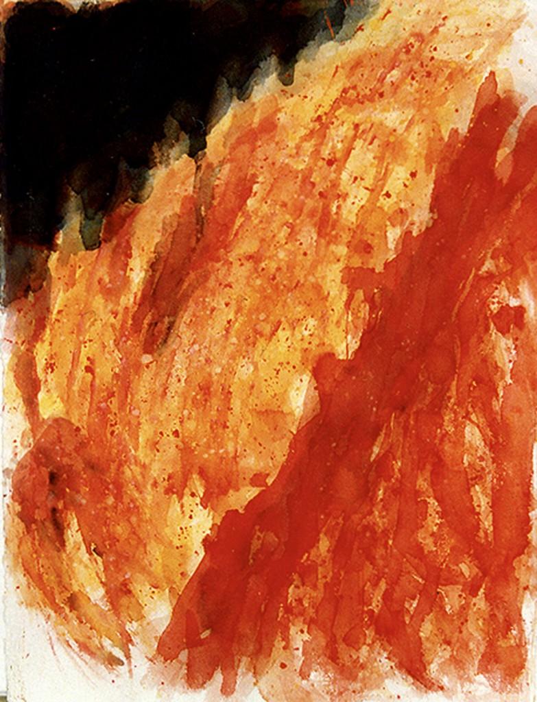 """""""Die Nacht und das Feuer (V)"""" 1990"""