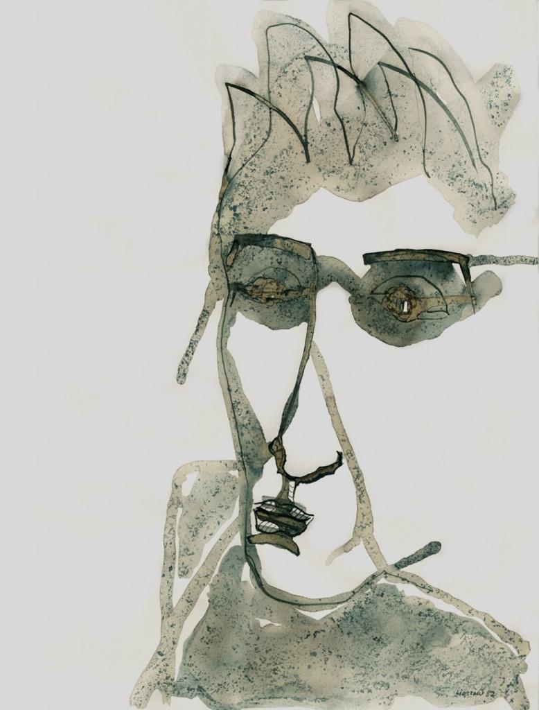 """""""Oxyd: Mann mit Sonnenbrille"""" 1982 (Mai)"""