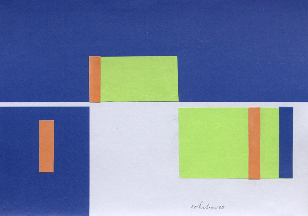 """Konstruktive Fügung"" (3) 2005"