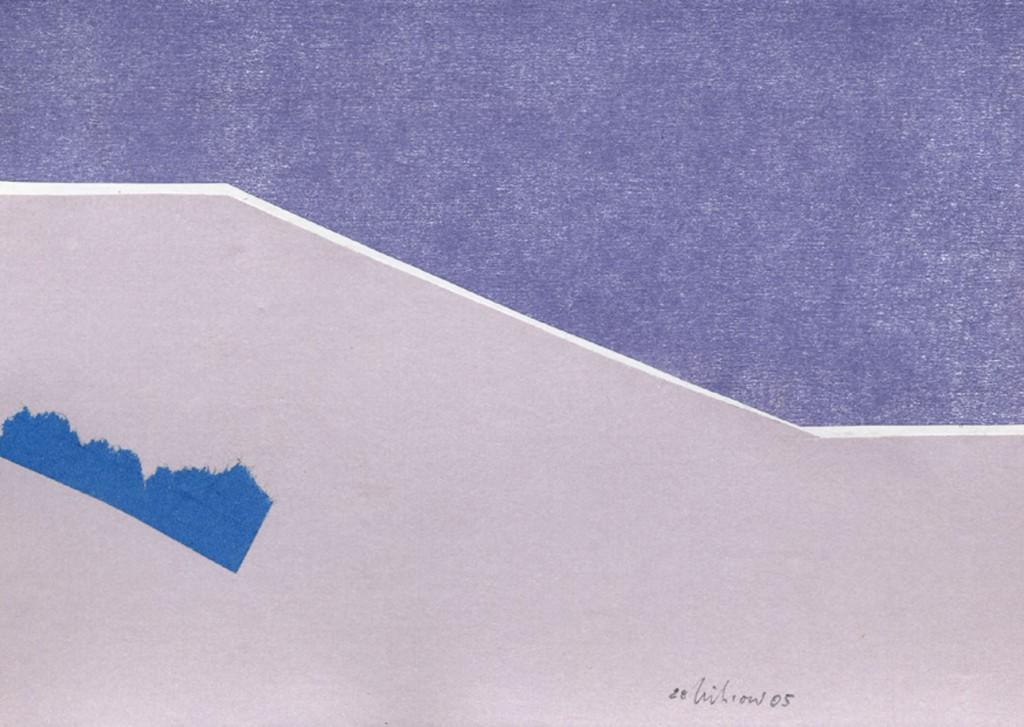 """""""Stille für Blau"""" 2005"""