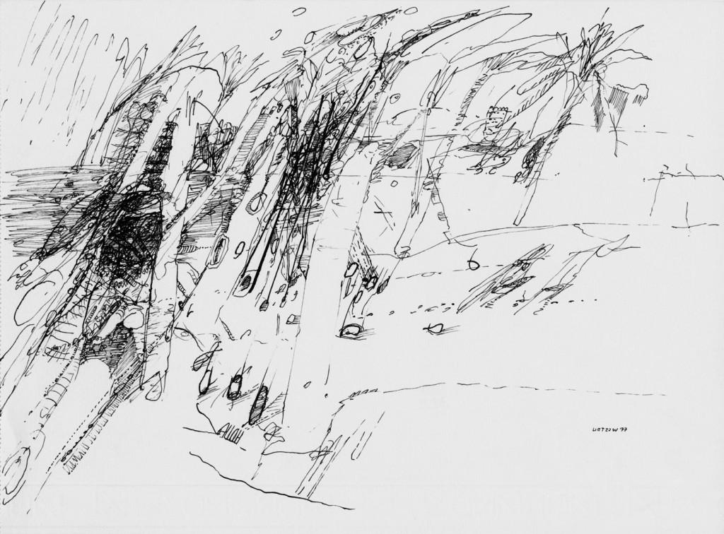 """""""Steinfall von Zarzis"""" 1977 (3.8.77)"""