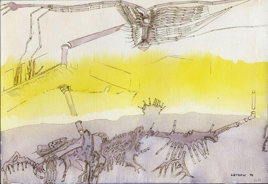 """""""Kleiner Flugversuch"""" 1974 (4.1.1974)"""