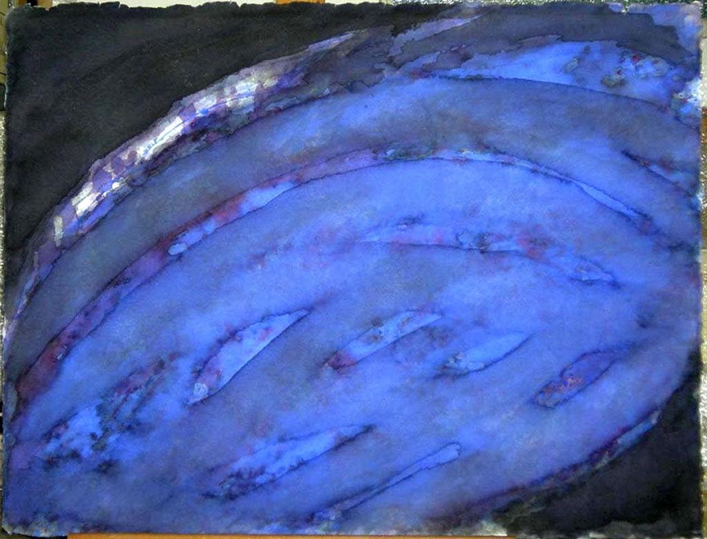 """Blaukrümmung III"" 1992/96"