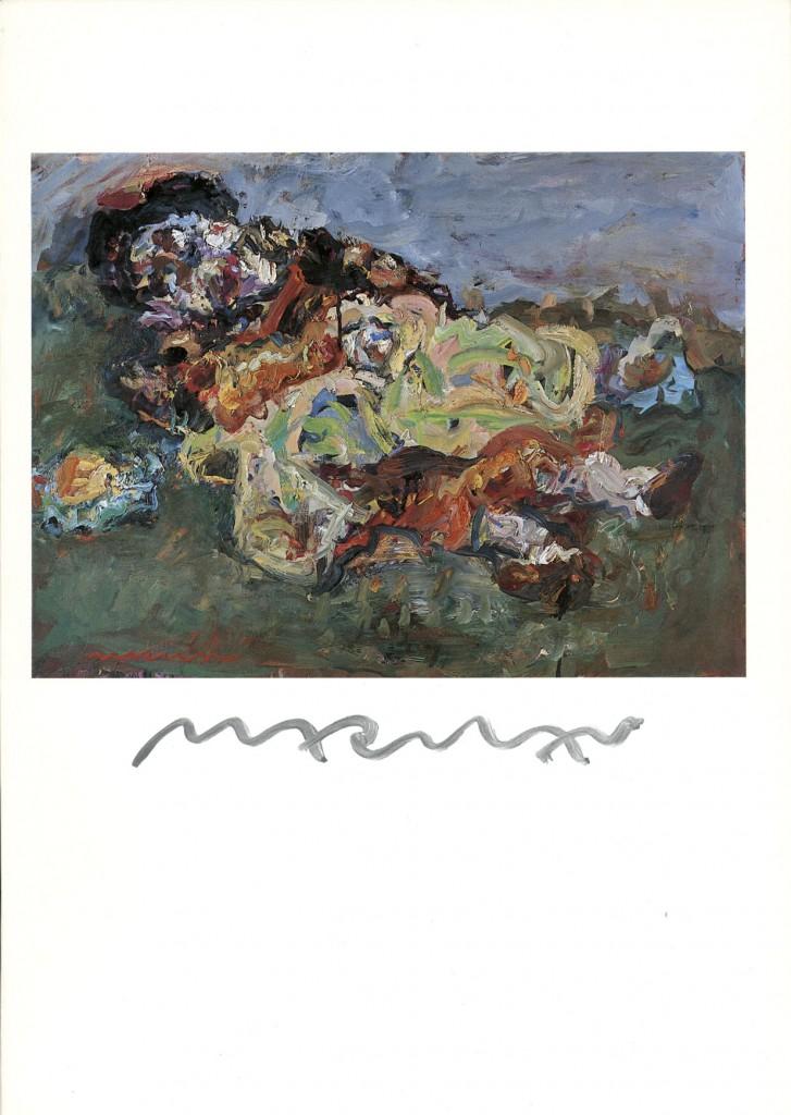 Marwan, Gemälde und Aquarelle, Erscheinungsjahr 1983