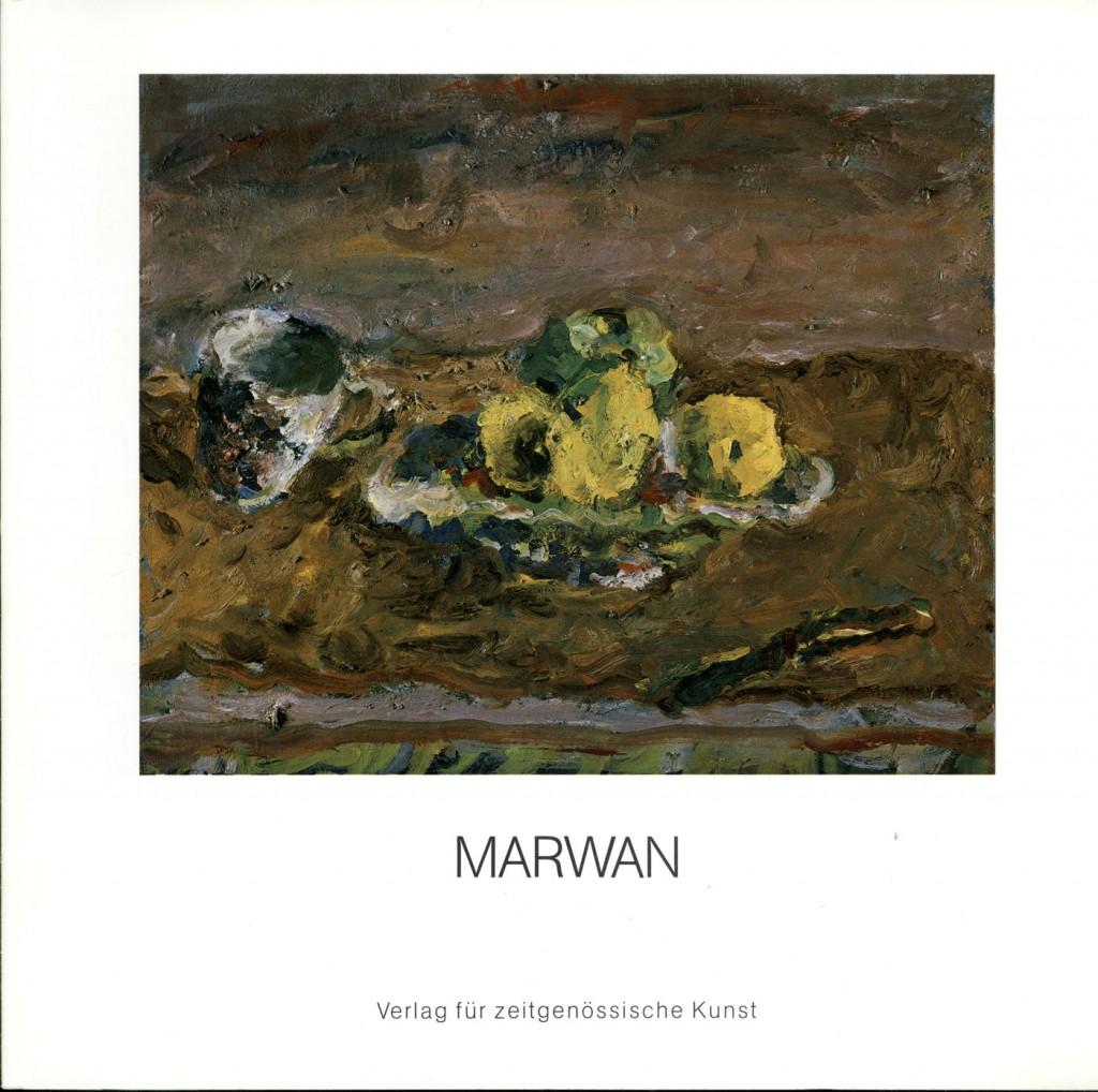Marwan, Bilder, Aquarelle und Zeichnungen, Ausstellung in der Kunsthalle Darmstadt Erscheinungsjahr 1984