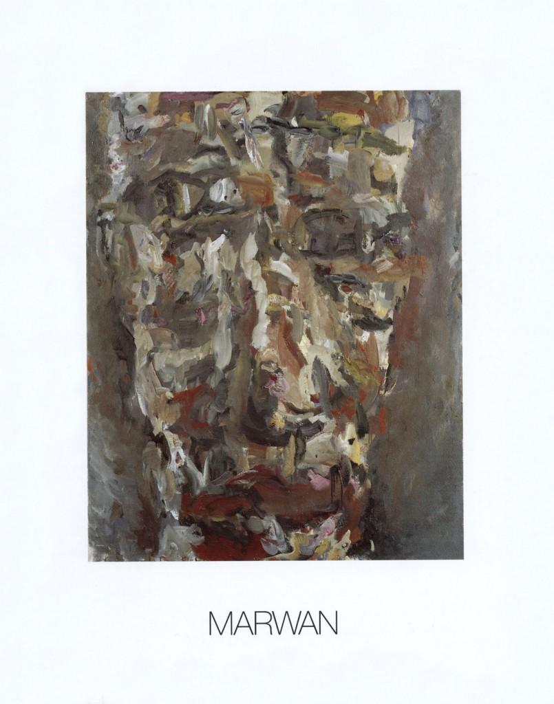 Marwan, Aquarelle und Ölbilder, Erscheinungsjahr 1987