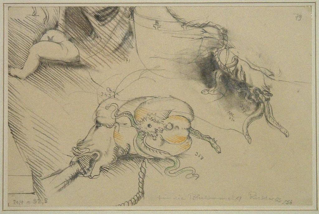 "Ohne Titel 1965, Illustration zur ""Blechtrommel"" (#1049)"