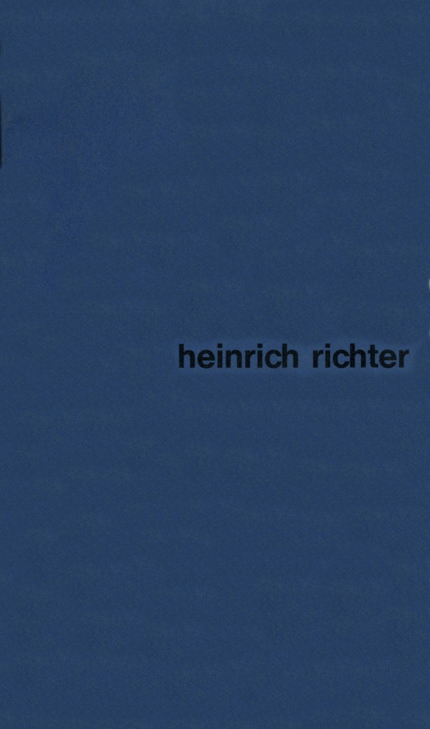 Heinrich Richter - Bilder, Erscheinungsjahr 1967