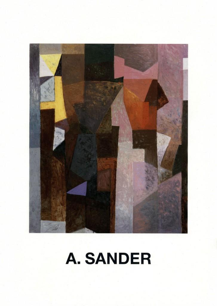 Axel Sander - Bilder und Aquarelle 1983-1987, Erscheinungsjahr 1987