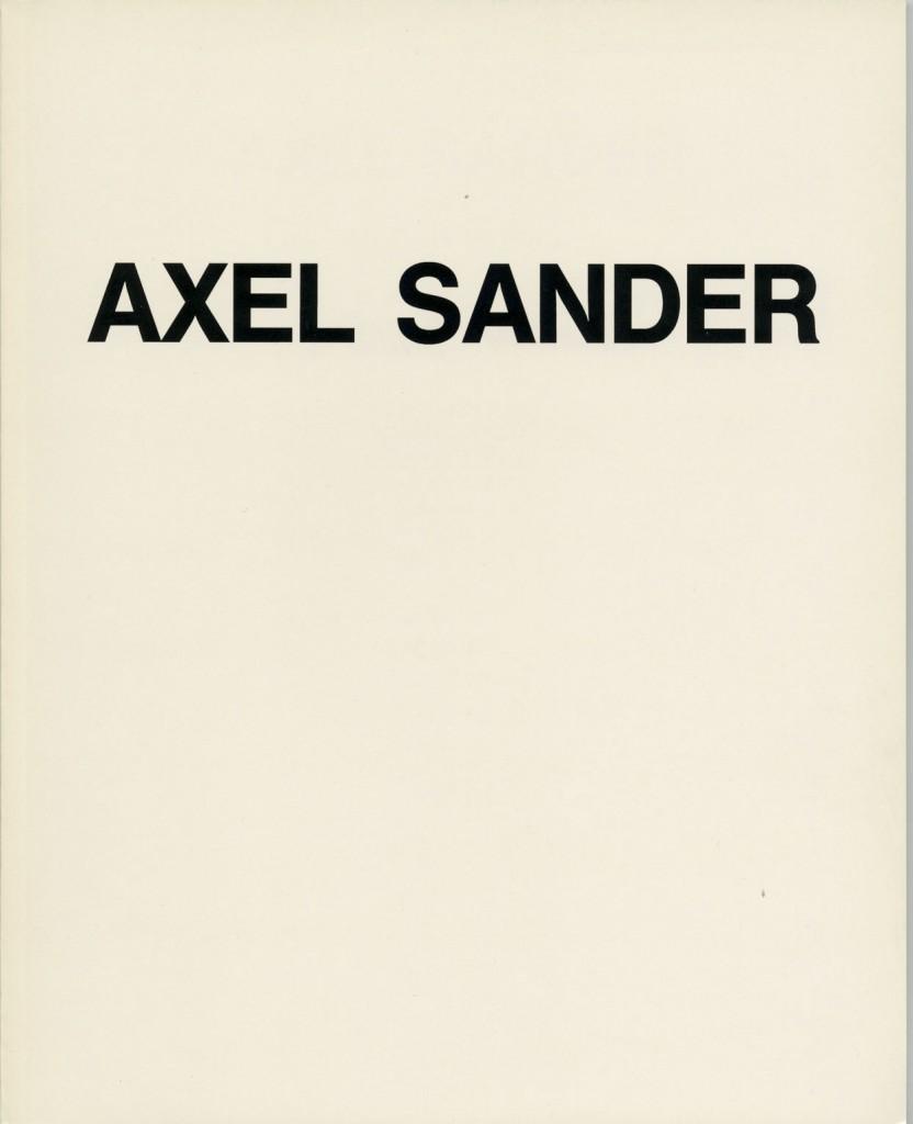 Axel Sander - Bilder und Tuschen 1989-1993, Erscheinungsjahr 1993