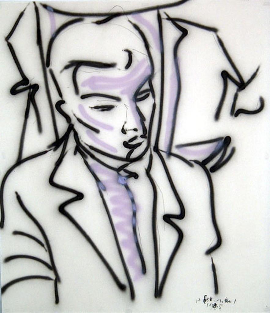 """""""Halbfigur"""" 1987 (#1154)"""