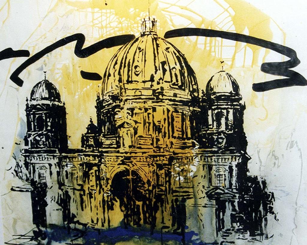 """""""Berliner Dom"""" 1992 (#7223)"""