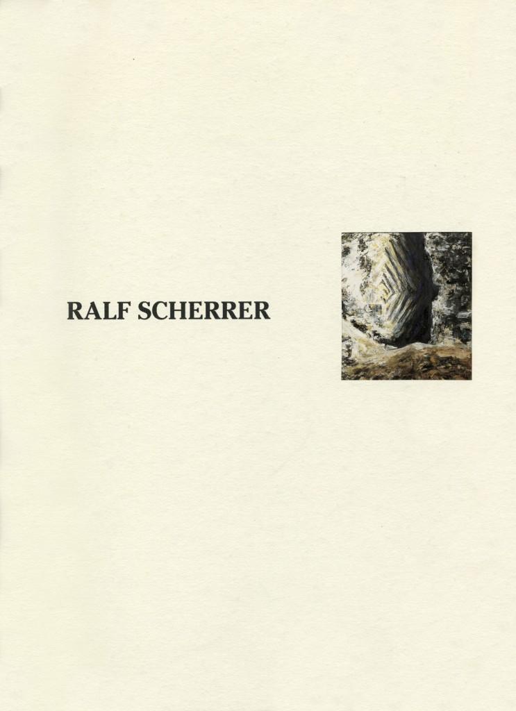 Ralf Scherrer - Pacatnamu, 7 Bilderzyklen, Leinwandbilder und Zeichnungen, Erscheinungsjahr 1993