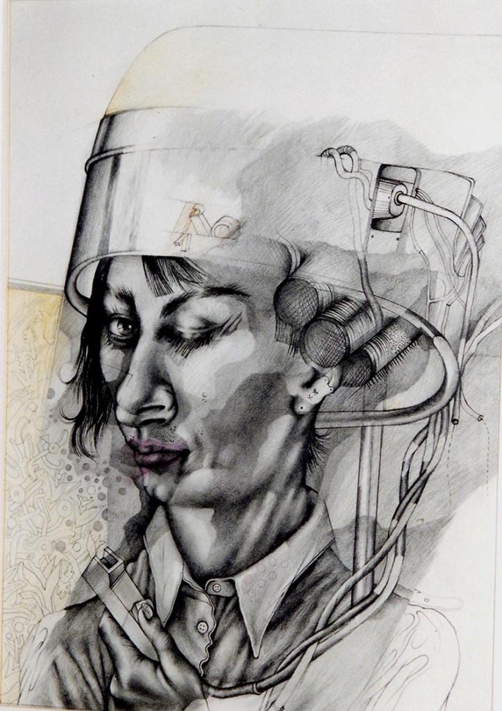 """""""Unter der Haube (II)"""" 1970 (#1620)"""