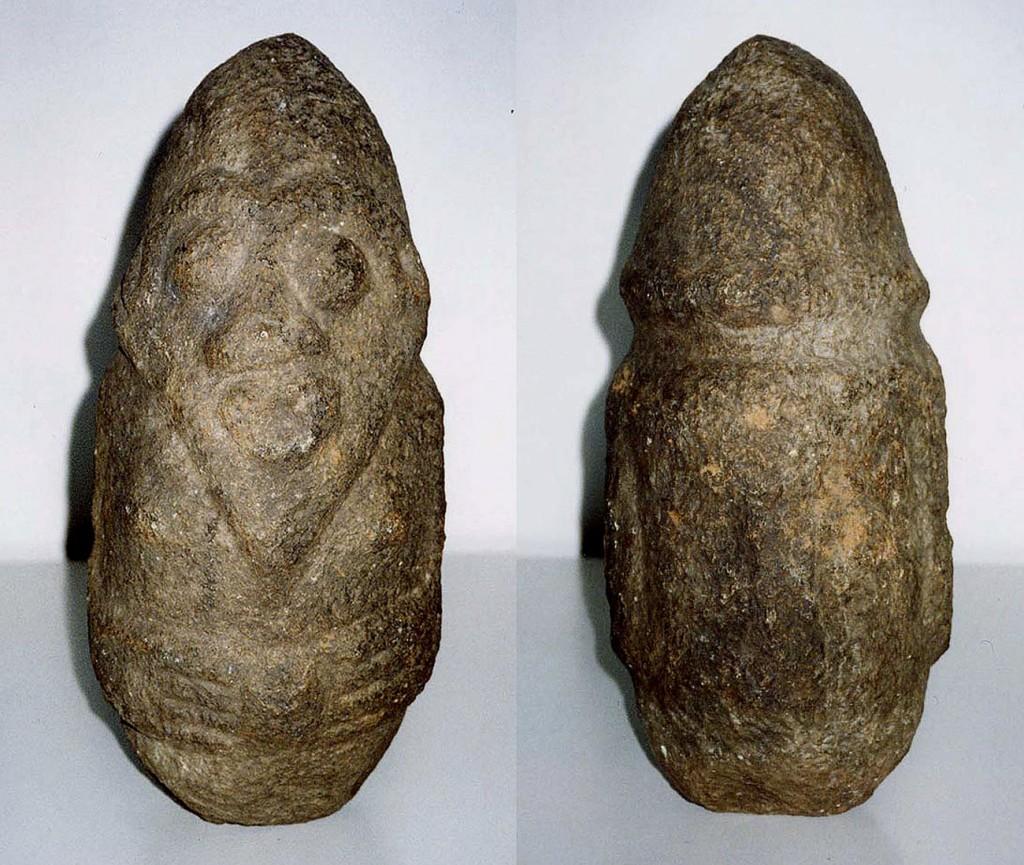 Steinfigur AKWANSHI (atal) Ekoi/Nigeria
