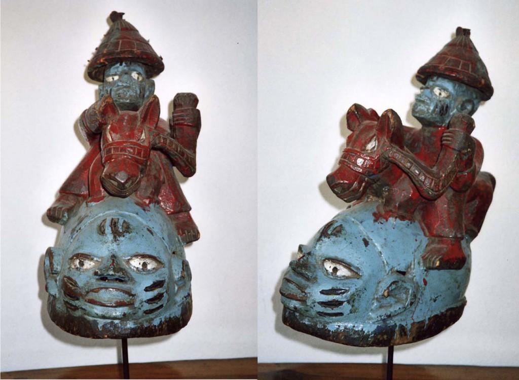 Kopfaufsatzmaske GELEDE (Yoruba /Nigeria)