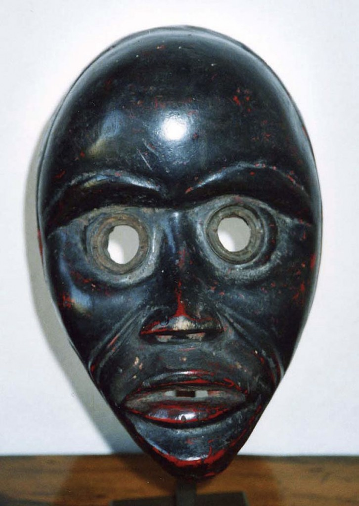 Läufer-, Feuermeldermaske GUYNEGE (Dan, Liberia / Elfenbeinküste)
