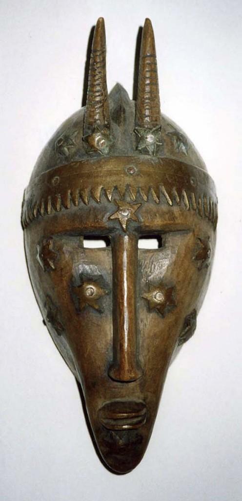 Zoomorphe Maske (Bamana (?) Dogon (?) /Mali)