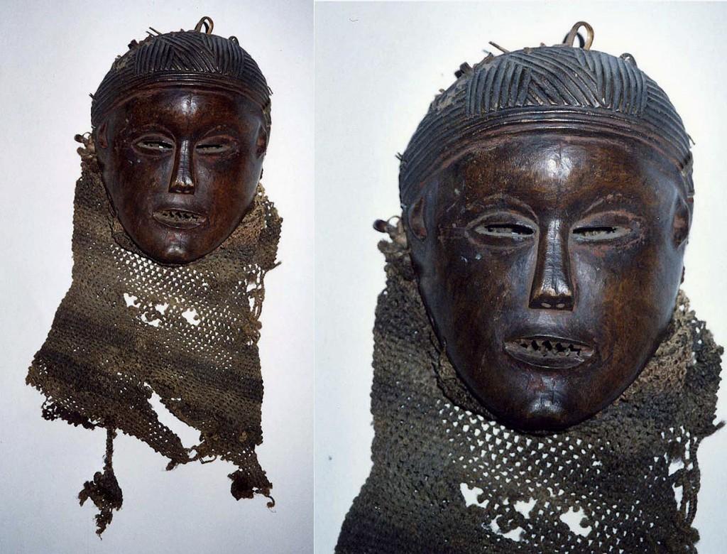 PWEVO-Maske mit angeschliffenen Zähnen (Luena/Angola)