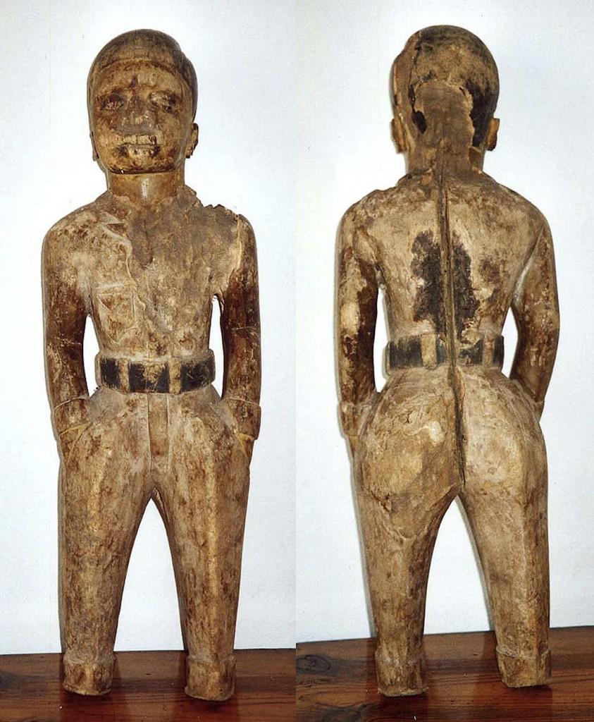 Stehende, männliche Figur COLON (Makonde/Tanzania, Mozambique)