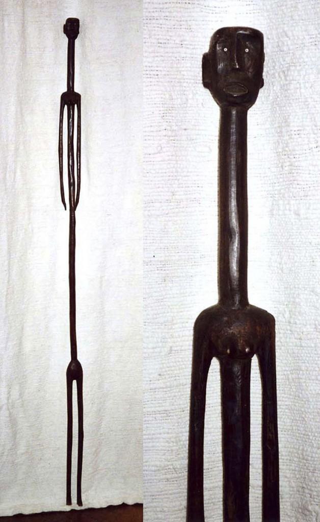 Überlängte weibliche Figur (Nyanwezi/Tanzania)