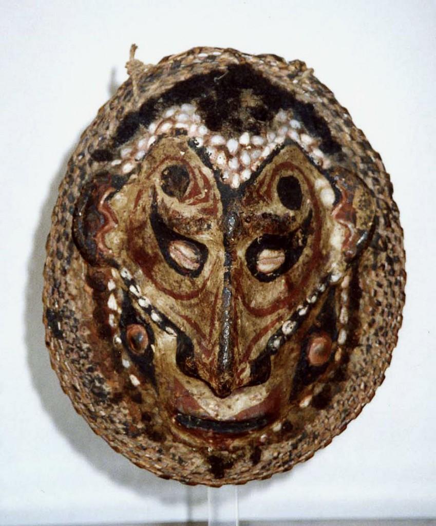 Ahnen-Gesicht (Mittlerer Sepik/Neuguinea)
